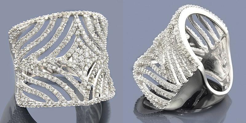 goldschmuck ringe diamanten 14 karat 585er wei gold brillantring 1 40 karat ebay. Black Bedroom Furniture Sets. Home Design Ideas